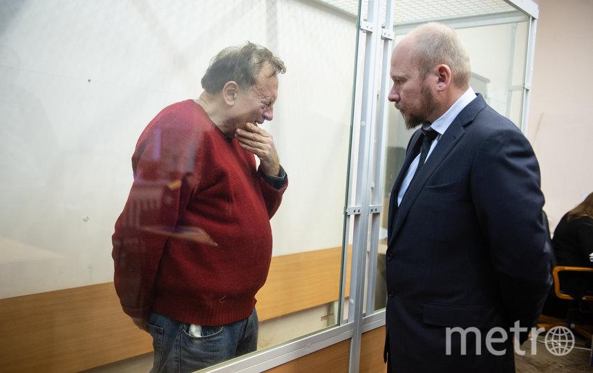 """Избрание меры пресечения в суде в Петербурге. Фото """"Metro"""""""
