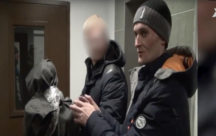 Скриншот видео СК РФ по Ленинградской области.