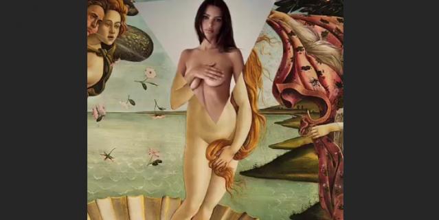 Эмили Ратаковски стала героиней известной картины.