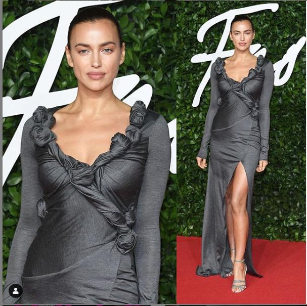 "Fashion Awards-2019. Ирина Шейк. Фото https://www.instagram.com/irinashayk/, ""Metro"""