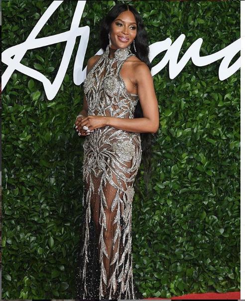 "Fashion Awards-2019. Наоми Кемпбелл. Фото ""Metro"""