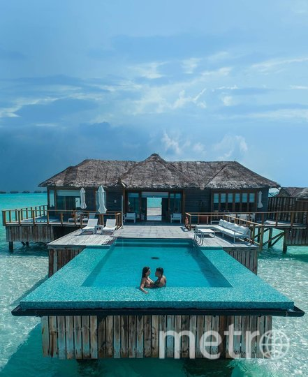 Conrad Maldives Rangali Island resort. Фото скриншот @conrad_maldives