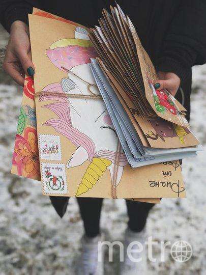 """Главной идеей подруг было, чтобы конверты и письма отличались от остальных. Фото instagram.com/konvert_ot_moroza, """"Metro"""""""