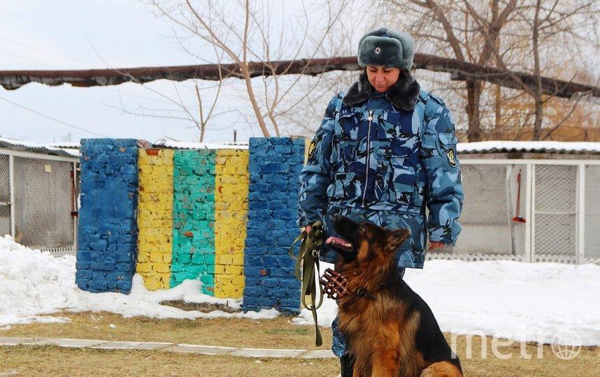 Мария и её собака. Фото Ольга Брютова/ИА UssurMedia