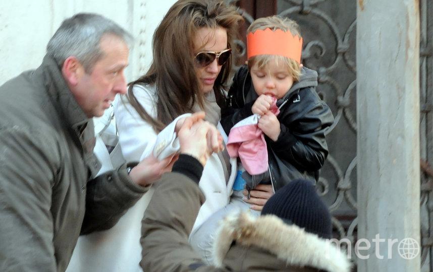 Анджелина Джоли и маленькая Шайло, фотоархив. Фото Getty