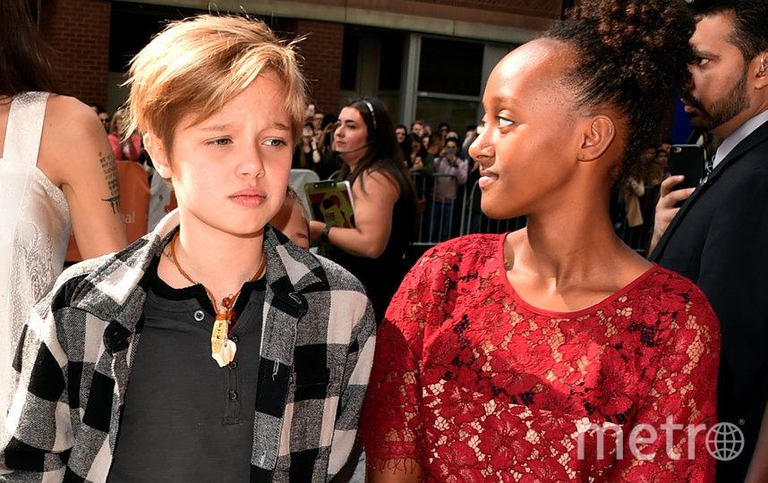 13-летняя дочь Джоли и Питта решила, что теперь ее зовут Джон. Фото Getty