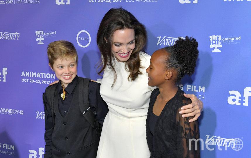 Анджелина Джоли и лочь Шайло, фотоархив. Фото Getty