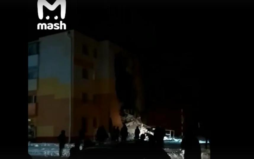 В Белгородской области произошел взрыв бытового газа в жилом доме - в результате обрушилась стена. Фото crhbyijn vk.com/mash