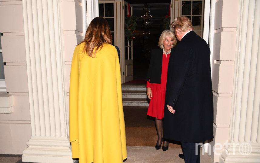 Мелания Трамп прибыла на прием для лидеров НАТО, организованный королевой Елизаветой II в Букингемском дворце. Фото Getty