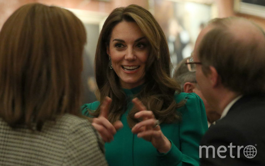 Кейт Миддлтон в Букингемском дворце. Фото Getty