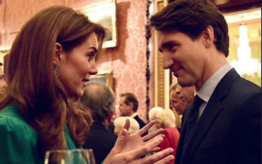 "Кейт и Джастин Трюдо. Фото https://twitter.com/RoyalFamily, ""Metro"""