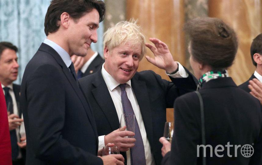 Прием в Букингемском дворце. Борис Джонсон. Фото Getty