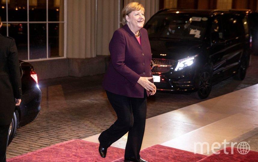 Прием в Букингемском дворце. Ангела Меркель. Фото Getty