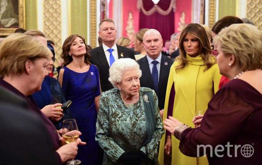 Прием в Букингемском дворце. Фото Getty