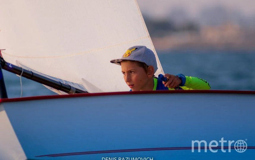 "Павел Гущин, фото предоставлено Академией парусного спорта. Фото Denis Razumovich, ""Metro"""
