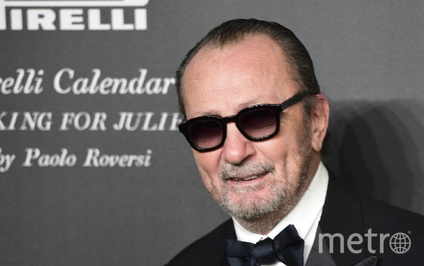 Паоло Роверси во время презентации Календаря в Вероне. Фото AFP