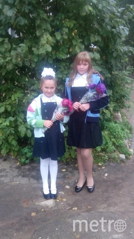 """Дарья и её сестра Виктория, которую она спасла. Фото предоставила Наталья Шерстнёва, """"Metro"""""""