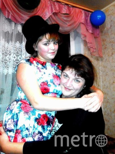 """Дарья с мамой. Фото предоставила Наталья Шерстнёва, """"Metro"""""""