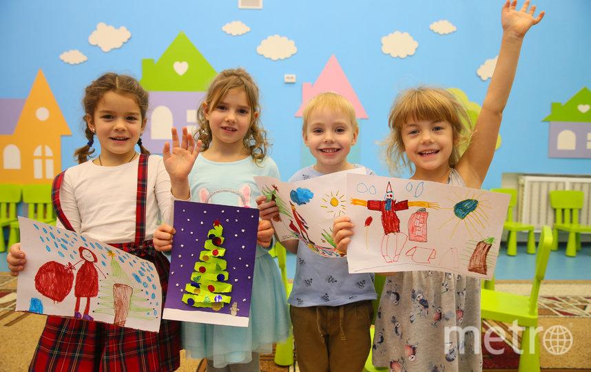 Дети не только рассказали нам о Дедушке, но и нарисовали его. Фото Василий Кузьмичёнок