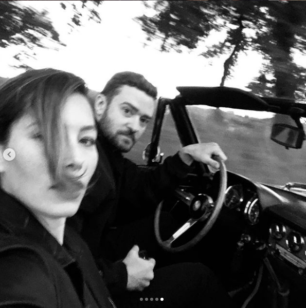 Джастин Тимберлейк и Джессика Бил. Фото скриншот instagram.com/justintimberlake/?hl=ru