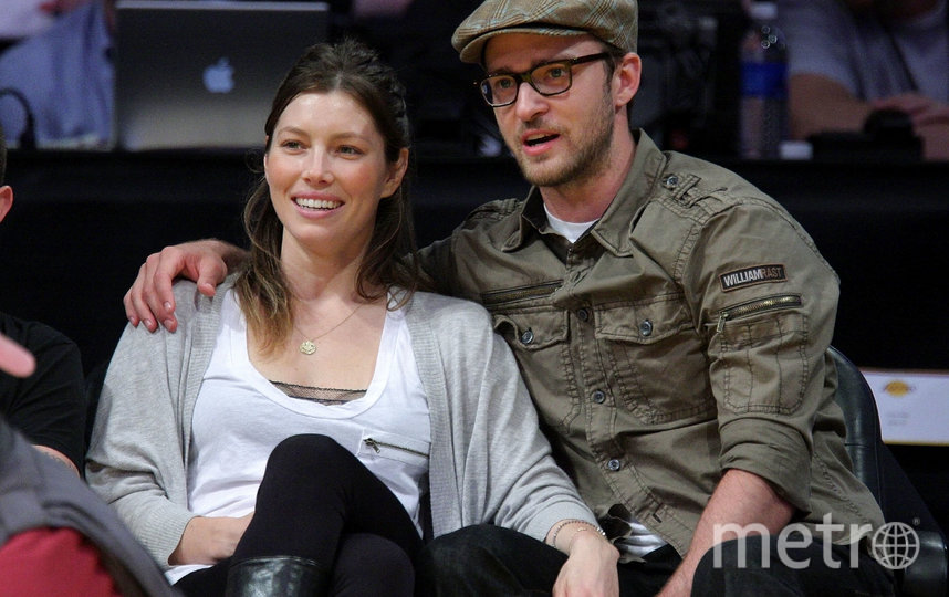 Джастин Тимберлейк и Джессика Бил. Фото Getty