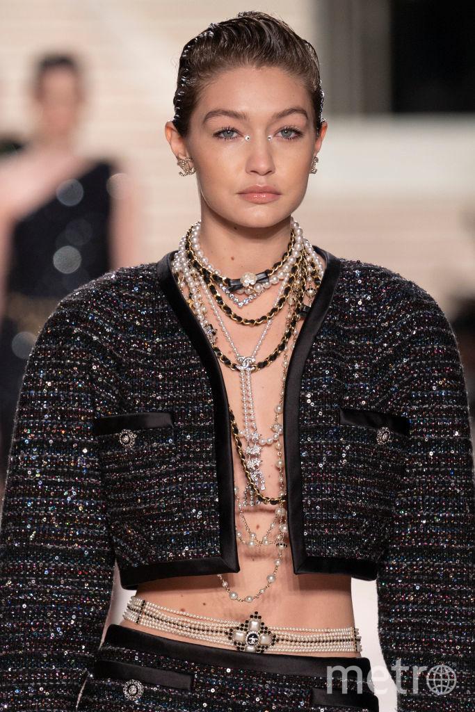 Джиджи Хадид, Chanel Metiers d'Art 2019-2020. Фото Getty