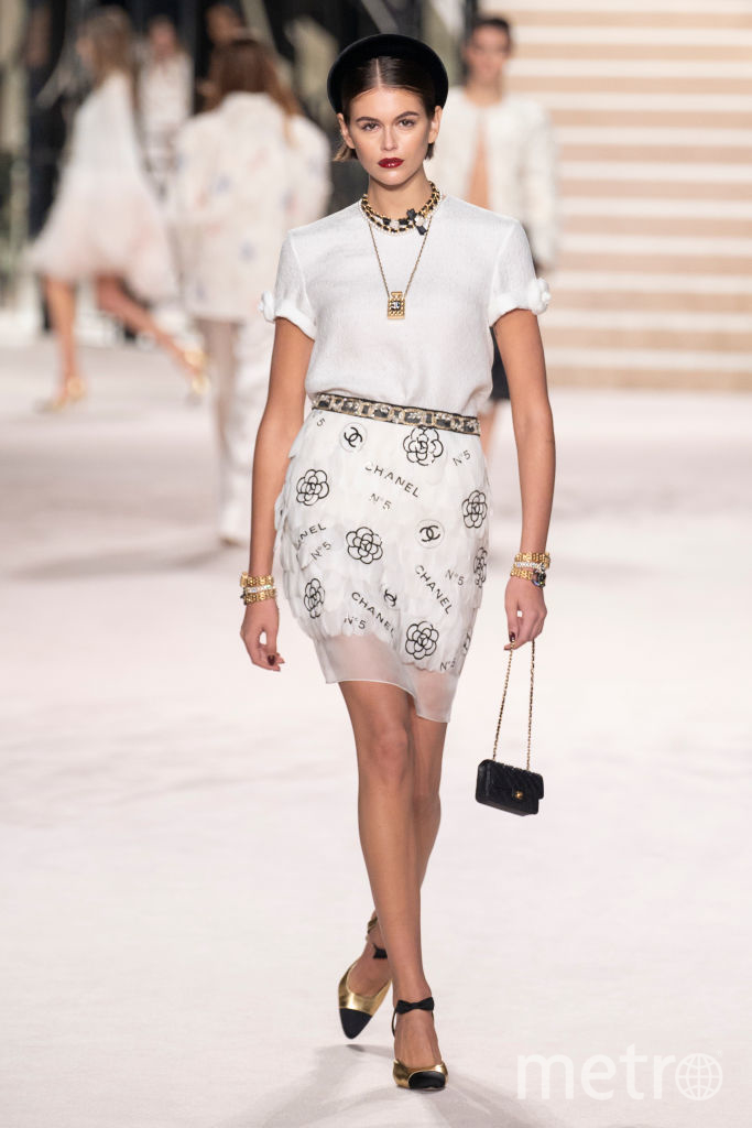Кайя Гербер, Chanel Metiers d'Art 2019-2020. Фото Getty