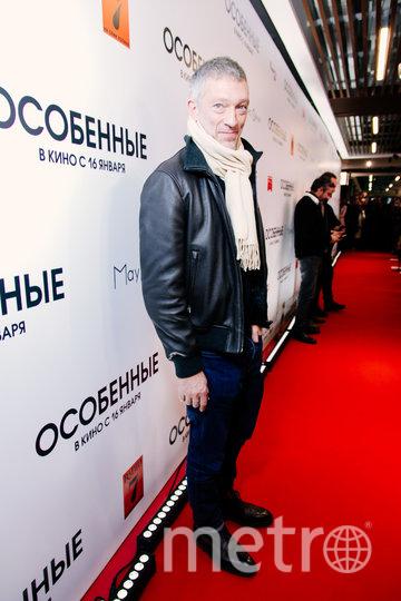 """Венсан Кассель на премьере фильма """"Особенные"""". Фото Предоставлено организаторами"""