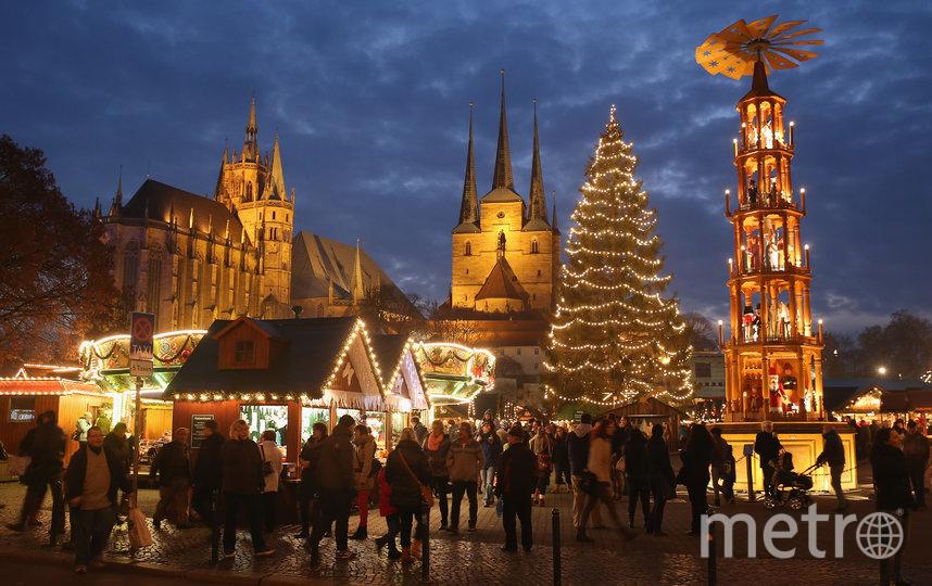 Эрфурт, Германия. Фото Getty