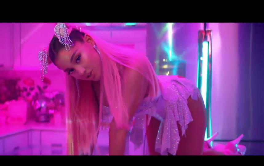 4. Ariana Grande - 7 rings. Фото скриншот: youtube.com/watch?v=QYh6mYIJG2Y