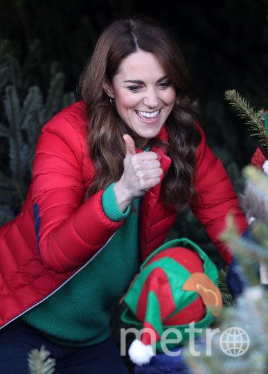 Кейт Миддлтон 4 декабря на ярмарке. Фото Getty