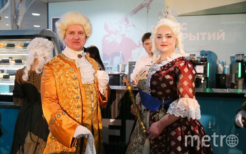 Ломоносов заглянул в кафе имени себя в компании императрицы Елизаветы. Фото Василий Кузьмичёнок