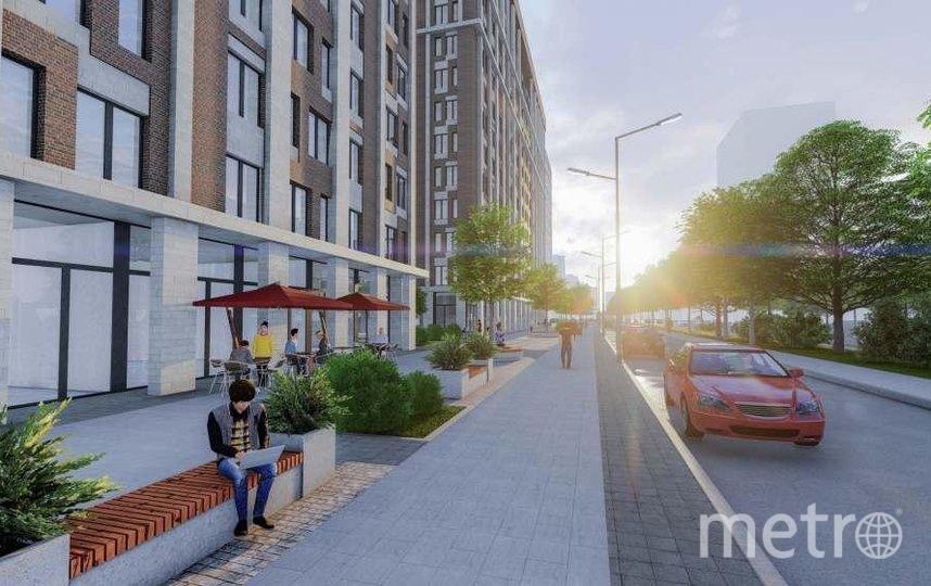 Проект планировки территории микрорайона 79. Фото предоставлено пресс-службой Москомархитектуры
