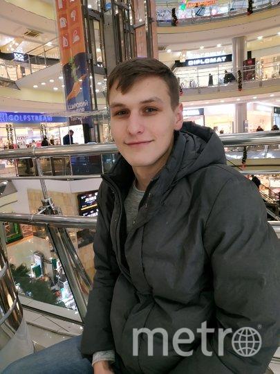 """Антон, менеджер, 22 года. Фото Наталья Сидоровская, """"Metro"""""""