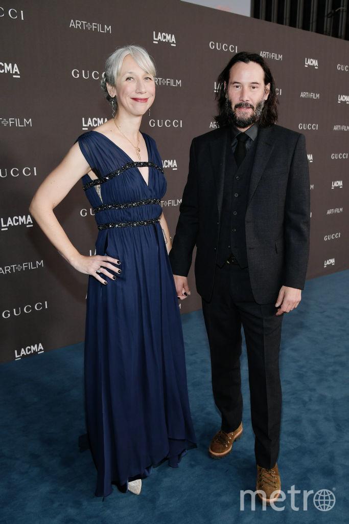 Киану Ривз  и Александра Грант. Фото Getty
