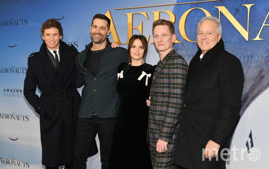 Фелисити Джонс, Эдди Редмэйн и другие на премьере. Фото Getty