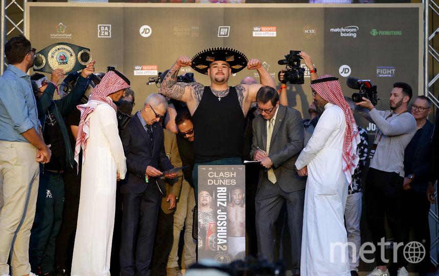 Бой Энтони Джошуа – Энди Руис пройдёт в Саудовской Аравии. Фото Getty