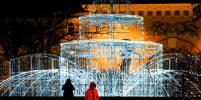 Как выглядит предновогодний Петербург: на улицах зажгли праздничные огни