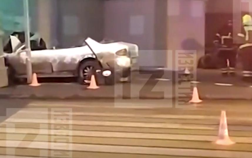 Сбивший насмерть пешеходов в Москве водитель имеет 12 штрафов за превышение скорости. Фото скриншот видео www.5-tv.ru/