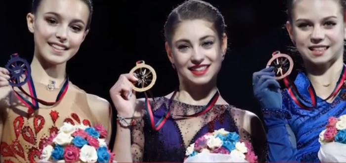 Финал Гран-при в Турине. Фото скриншот видео www.1tv.ru