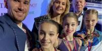 Сплошной триколор: российские фигуристки заняли весь пьедестал в Турине
