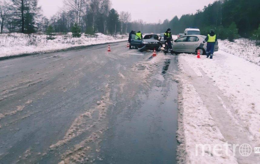 В ДТП в Кировском районе погибла женщина, трое пострадали. Фото https://vk.com/dorinspb