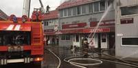 В Наро-Фоминском округе произошёл пожар
