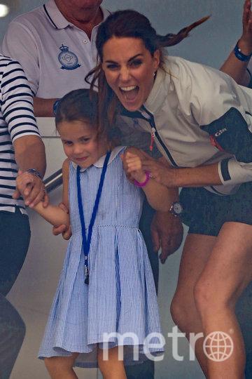 Кейт Миддлтон и принц Уильям с детьми, фотоархив. Фото Getty
