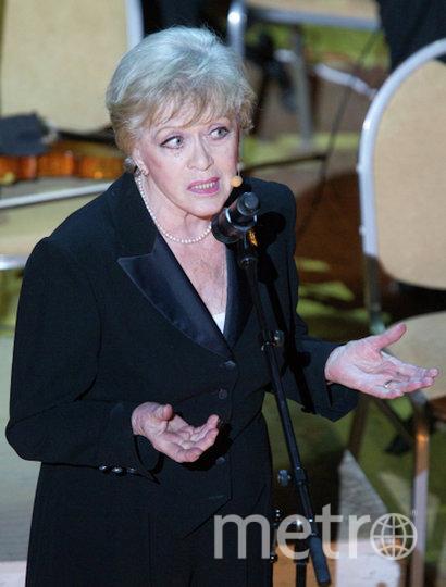 Алиса Фрейндлих, 2011 год. Фото РИА Новости