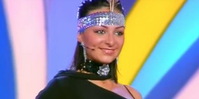 Екатерина Варнава в начале карьеры.
