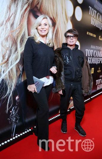 Марина и Валентин Юдашкины на премьере фильма. Фото Предоставлено организаторами