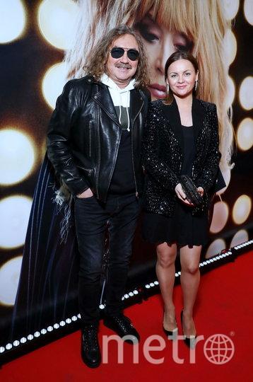 Игорь Николаев с женой Юлией на премьере фильма. Фото Предоставлено организаторами