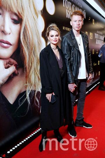 Никита Пресняков с женой Аленой на премьере фильма. Фото Предоставлено организаторами