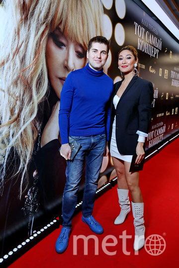 Телеведущие Дмитрий Борисов и Марина Ким на премьере фильма. Фото Предоставлено организаторами